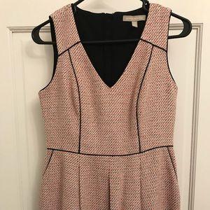 Pretty pink sleeveless dress